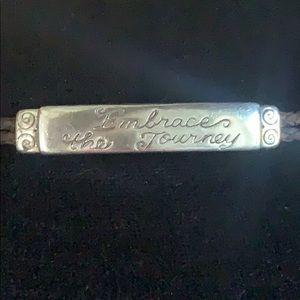"""Brighton """"Embrace the Journey"""" Bracelet"""